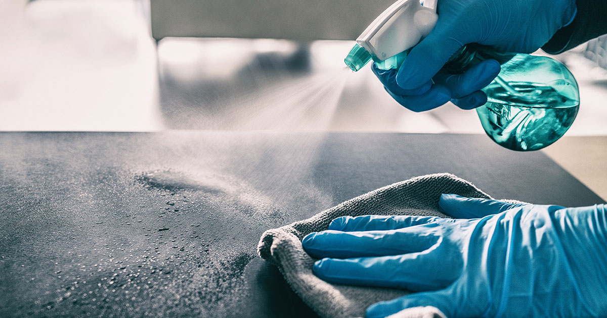 Benefits of Cleaning & Applying Disinfectant In Your Home and/or Business |  FSA - Full Steam Ahead - A Belfor Property Restoration Company